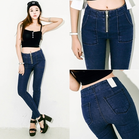 [DK Jeans] 2015 Fall Winter New Style Woman Casual...