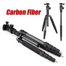 DiC&MiC E302C carbon fiber Portable travel mefoto dslr monopod stand professional camera tripod for tripode light stand triposd