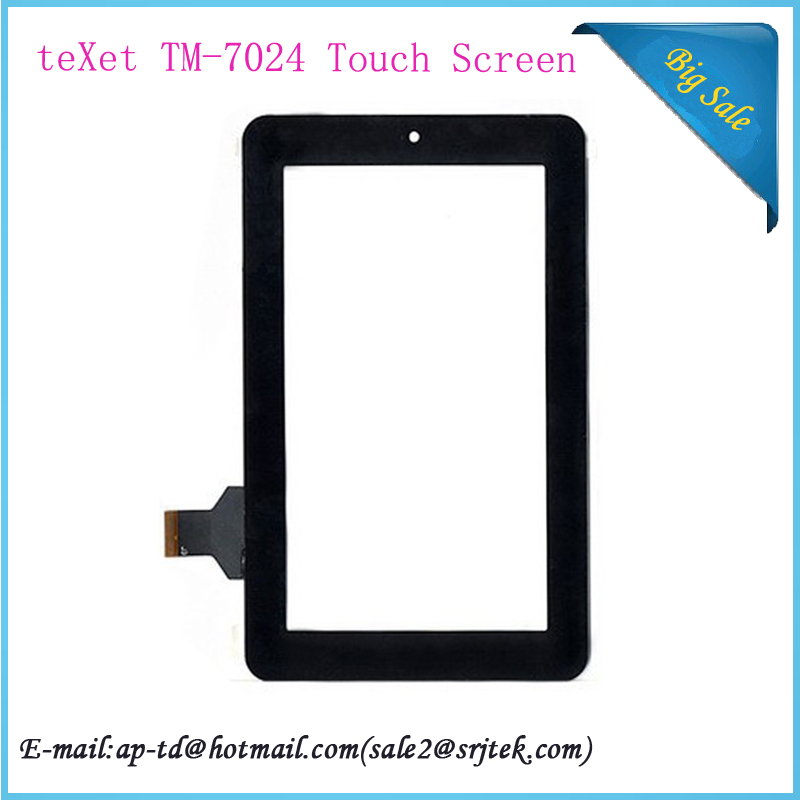 7 inch teXet TM-7024 Touch Screen Digitizer Glass Sensor Repairment Parts TM-7024 Tablet Pc Touchscreen Panel(China (Mainland))