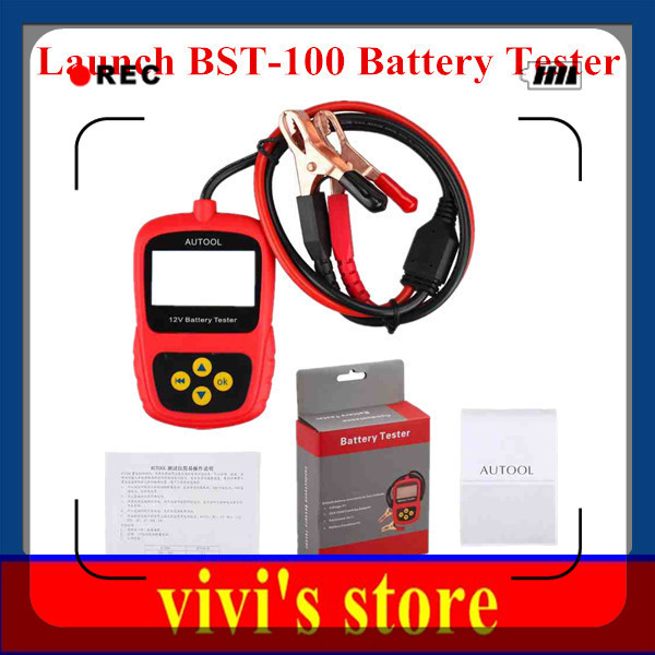 Best quality 100% Original Launch BST100 Battery Tester with Portable Design Launch BST-100 Launch BST 100 Auto Battery Analyzer(China (Mainland))