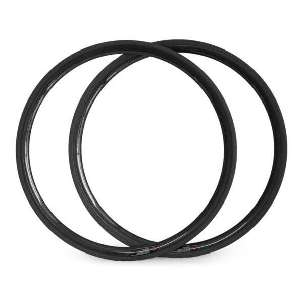 2014 Super light hot sale 23mm width 38mm 700C Carbon fiber road bike rim Tubular bicycle rims<br><br>Aliexpress