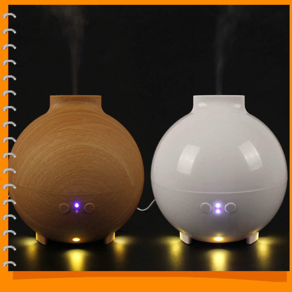 600mL Ultrasonic Air Humidifier Atomizing Anion Electric Aroma Diffuser Aromatherapy Air Humidifier Mist Maker for Home(China (Mainland))