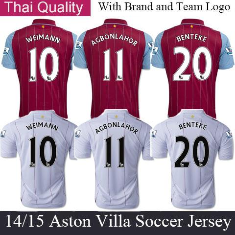 Aston Villa Benteke Jersey