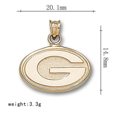 6pcs/lot fashion Vintage Zinc Alloy The Green Bay Packers Pendant Charm For Jewelry Pendant Making Wholesale(China (Mainland))