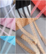 12mm 4 yards 11 color Embroidered Net Lace Trim