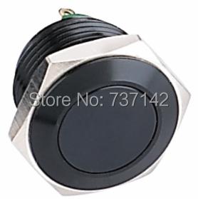 Гаджет  ELEWIND Black metal push button(PM161F-10/J/A) None Электротехническое оборудование и материалы