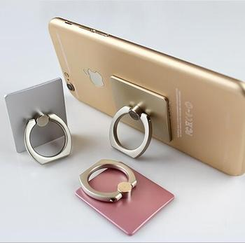 Fashion 360 Degree Metal Finger Ring Mobile Phone Smartphone Stand Holder For iPhone/Samsung Smart Phone