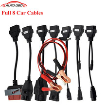 Buy 10/Lot DHL Free CAR CABLE OBD OBD2 Full Set 8 Car Cables Diagnostic Tool Interface Cable TCS CDP Pro Plus Car Cable for $138.00 in AliExpress store