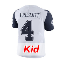 Youth #4 Dak Prescott White Kid's #21 Ezekiel Elliott Rush Limited #88 Dez Bryant Witten #82 Jason Witten Men's(China (Mainland))
