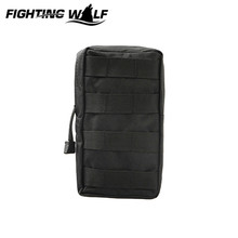 Buy Tactical Molle Utility Vest Pouch Waterproof Men Outdoor Sport Waist Pack Nylon Waist Bag Army Military Small Bags for $4.04 in AliExpress store