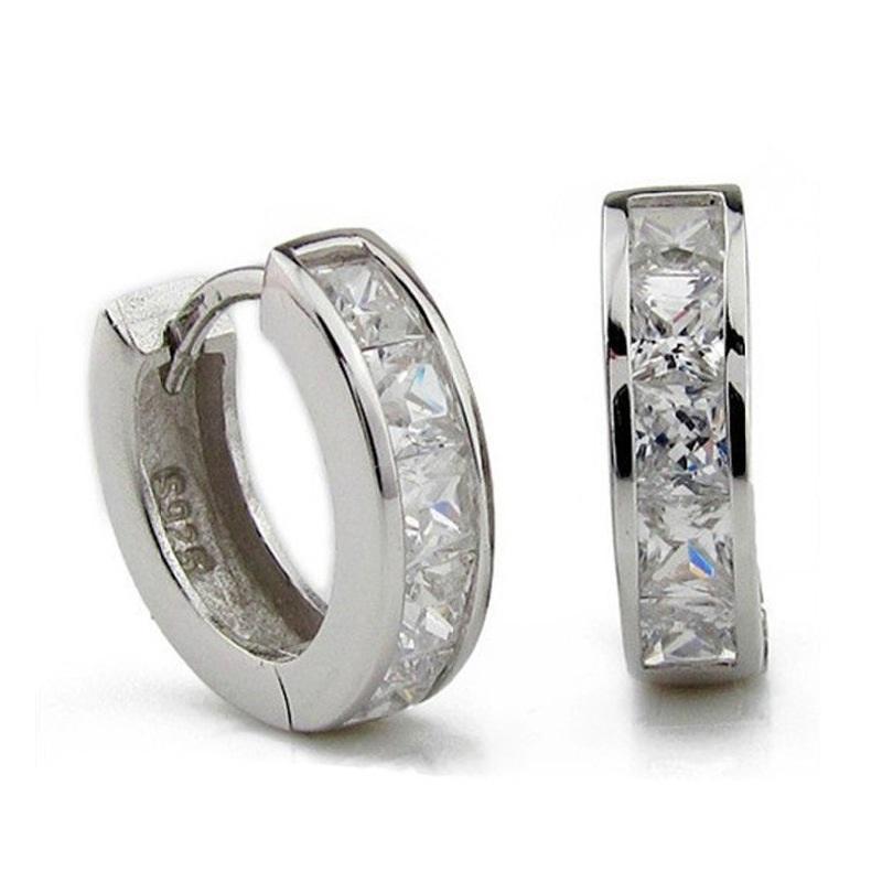 Серьги-кольца Stephany Jewelry & Co., Ltd. 925 E029 co e