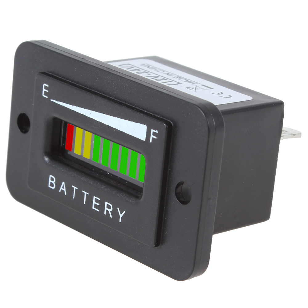 Battery Charge Monitor : Hotsale v battery charge indicator monitor meter