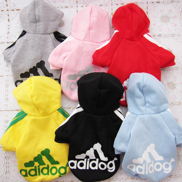 Pet Puppy Small Dog Clothes Coat Hoodie Sweater Costumes Size S M L XL XXL Autumn Winter