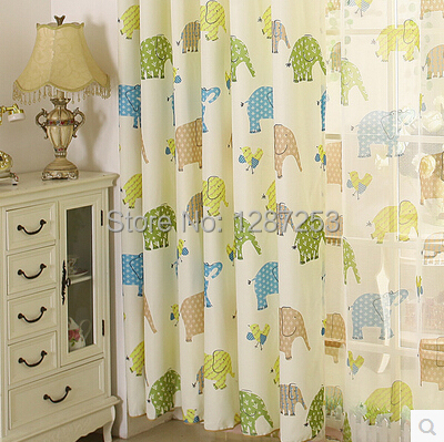 kids curtain for baby room window curtains for bedding room curtain