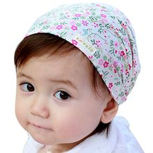New Cute Baby Toddler Infant Girls Outfits Floral Headband Bandanas scarf Hot