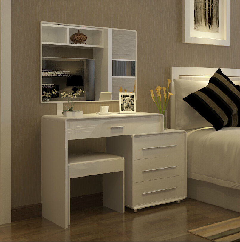 scalable about modern minimalist white dressing table. Black Bedroom Furniture Sets. Home Design Ideas