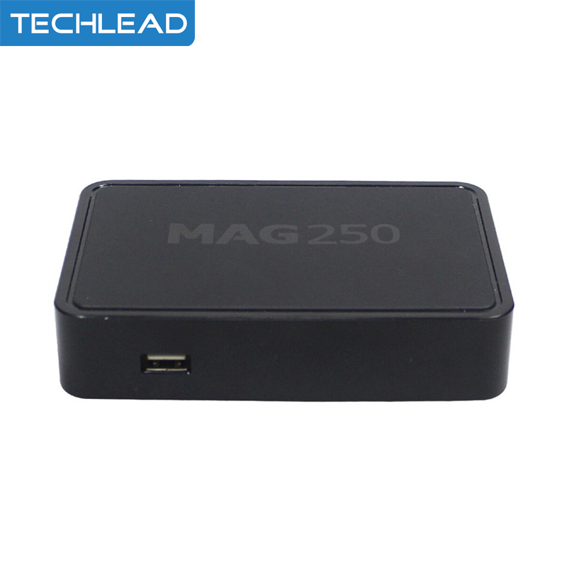 2pcs DHL internet mag250 set top box arabic IPTV media player linux system 256M RAM STB m3u mag 250 IPTV box HD TV receiver(China (Mainland))