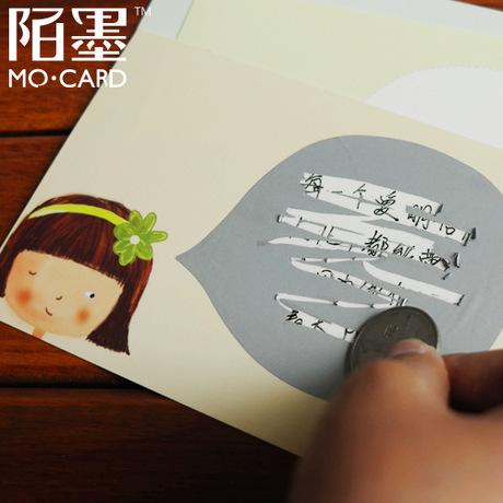 Aliexpress.com: Comprar 8 unids/lote DIY Kawaii tarjetas rasca y ...