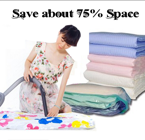 Get cheap 50*70/60*80/70*100 9wire Vacuum storage bag pillow qulit cloth compressed bag waterproof free shipping(China (Mainland))