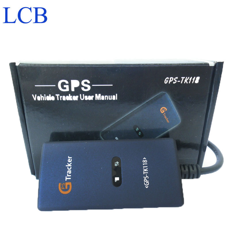 TK118 Real time online server googel map gps vehicle tracker 2pcs/lot free shipping<br><br>Aliexpress