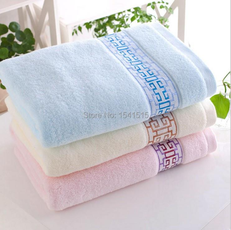 100% Cotton Solid color towels Large Bath Sheet Bath Towel Hand Towel Face(China (Mainland))