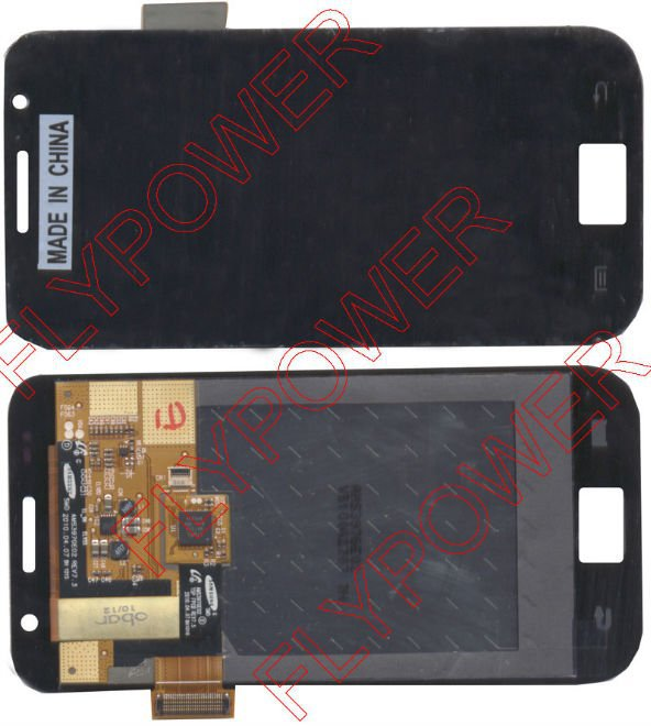 For Samsung Galaxy S Plus I9001 I9000 lcd Screen with touch digitizer assembly by free DHL, UPS or EMS; 100% original; 5pcs/lot(China (Mainland))