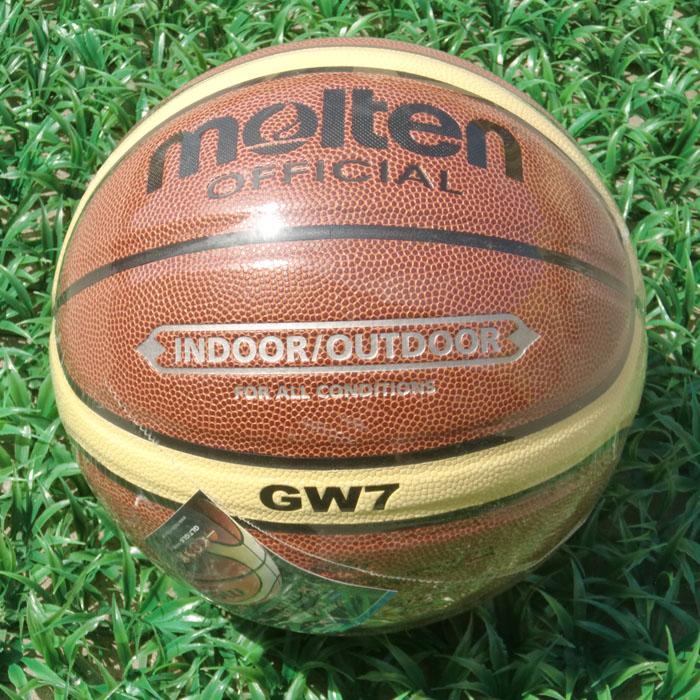 A+++ Quality Molten GW7 Basketball Ball Official Size7 Basketball Free With Ball Pump +Net Bag+ Needle bola de basquete(China (Mainland))