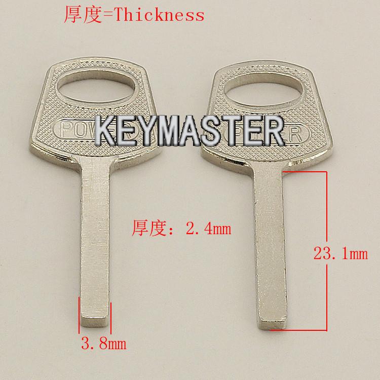 YP505 House Key blanks Locksmith Supplies Home Blank keys(China (Mainland))