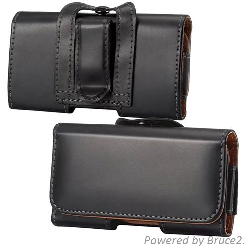 Belt Clip Loop Hip Holster Leather Flip Pouch Case Cover For Acer F900(China (Mainland))