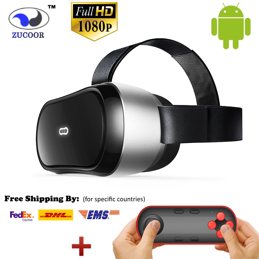 VR Glasses ZV11 All-In-One Virtual Reality 3D Glasses Box Magicsee M1 Lentes Realidad Helmet 1080p Android OS WiFi HDMI TF Card(China (Mainland))