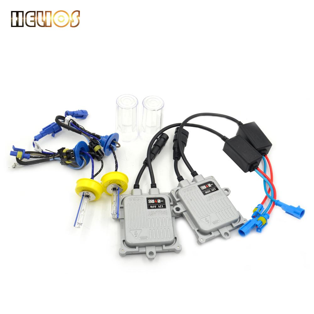 55w digital hid xenon kit fast start Car Headlight auto lamp H11 h7 H9 H1 9006 free shipping(China (Mainland))