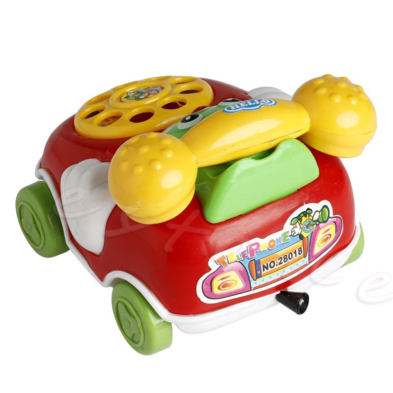 1Pc Baby Toys Music Cartoon Phone Educational Developmental Kids Toy Gift New Shower Tool Set
