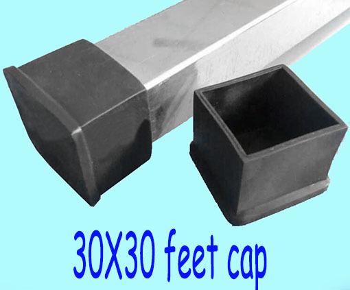 30 30mm Table Leg Cover Cap Square Pipe Tube Table Lag