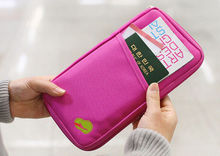2015 Travel Passport Credit ID Card Holder Cash Wallet Organizer Bag Purse Wallet Fashion ES