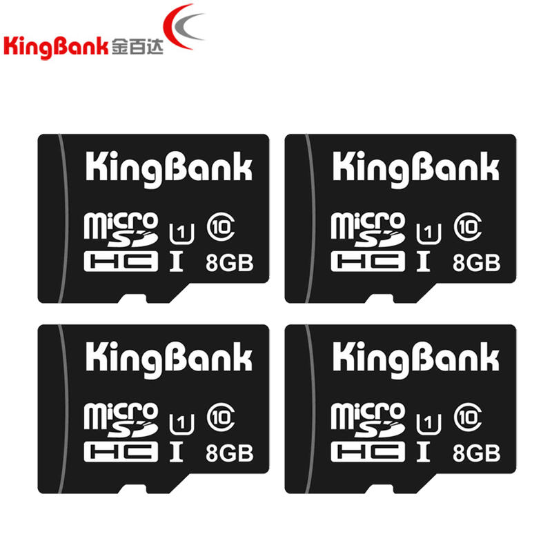 KINGBANK TF card Class 10 Real capacity 8GB 16GB 32GB 64GB 128GB Memory Cards