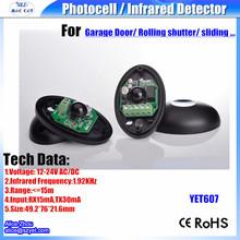 Лучший продавец продуктов цифровой активный инфракрасный одноместный детектор луча с пульт дистанционного управления для двери, ворота, окна(China (Mainland))