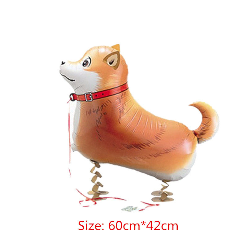 1pc/lot My Own Walking Dog Foil Balloons Animals Style Inflatable Shepherd Uguetes Kids Toys Decortion Globos(China (Mainland))