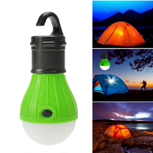 Outdoor Led Camping Lamp Tent Light Torch Flashlight Hanging Flat LED Light 3 Mode Adjustable Lantern AAA Battery ABS(China (Mainland))