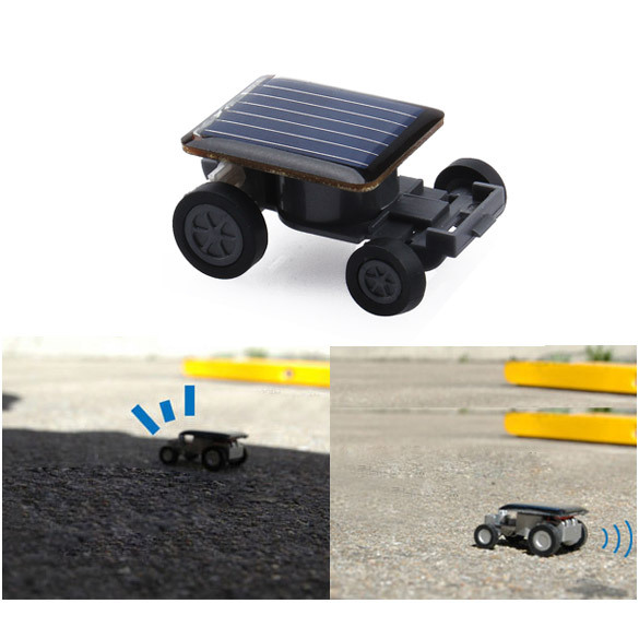Hot Sale Mini Solar Power Toy Car Racer Educational Gadget W PNLO