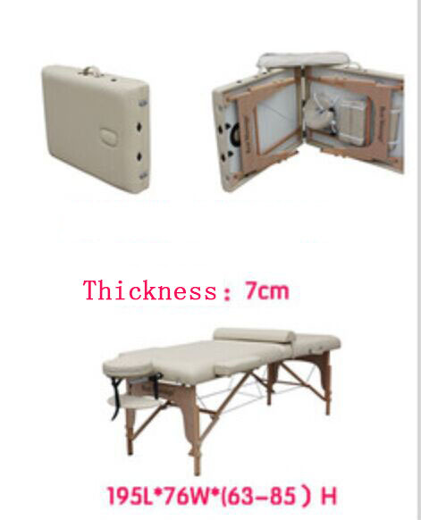 2015 new design high quality cheap folding wooden massage table/massage beds/beauty bed/spa beds(China (Mainland))