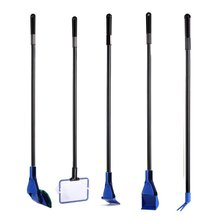 5 Pcs Cleaning Tools for Aquarium Cleanning Fish Bowl Rake Scarper Fork Sponge(China (Mainland))