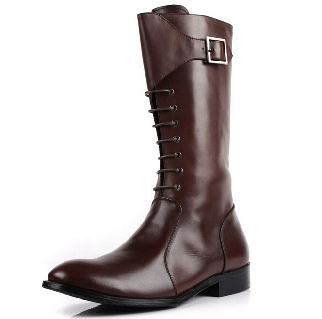 Knee High Boots For Men