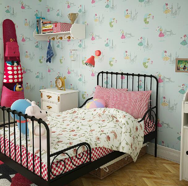 cartoon dancing girl wallpaper girls bedroom kids room wallpaper
