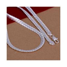 Necklace New!925 Sterling Silver Men S Jewelry Necklace 925 Silver Necklace Free Shipping Wholesale Lkn280(China (Mainland))