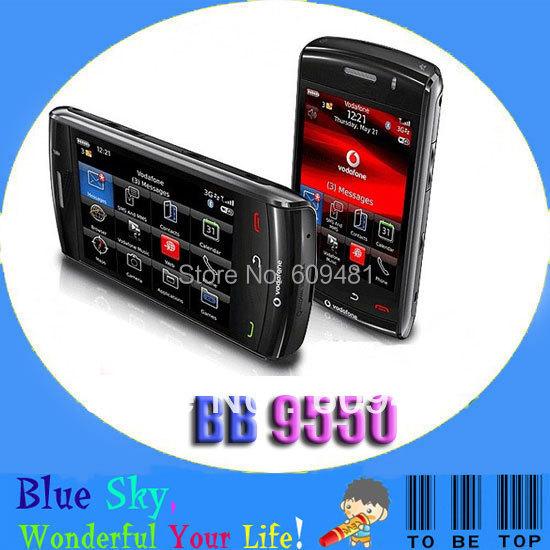 """Blackberry 9550 Storm 2 Original mobile phone 2G Memory 3.15 MP camera 4.3"""" capacitive screen(China (Mainland))"""