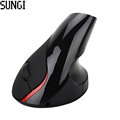 Hot sale Optical Wireless Mouse Ergonomic Design High Quality 5D Vertical Mouse Wrist Healing For Computer