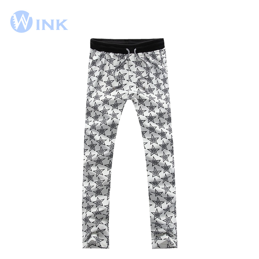 Drawstring Pants For Men Men Cotton Long Pants Sports