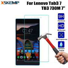 "Buy Ultra Slim Explosion Proof Transparent Tempered Glass Lenovo Tab3 7 TB3 730M 7"" Tablet LCD Screen Protector 9H Film Guard for $2.63 in AliExpress store"