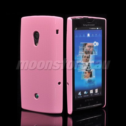 NEW HARD MESH CASE COVER FOR SONY ERICSSON XPERIA X10 FREE SHIPPING(China (Mainland))