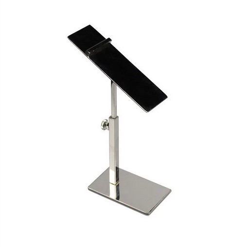 Stainless steel shoe Bracket adjustable display rack shoe holder stand shop showing stand(China (Mainland))